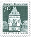 Briefmarke: Osthofentor Soest (Westfalen)