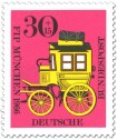 Briefmarke: Bayerische Postkutsche (Kongress Philatelistenverband)