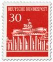 Brandenburger Tor 30 (Rot)