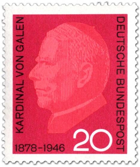 Briefmarke: Clemens August Graf von Galen (Bischof)