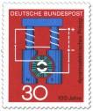 Briefmarke: Dynamo-Prinzip (Werner von Siemens)