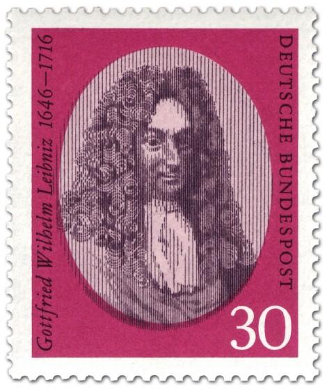 Briefmarke: Gottfried Wilhelm Leibnitz Philosoph Wissenschaftler