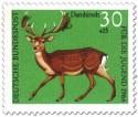 Briefmarke: Damhirsch (dama dama)