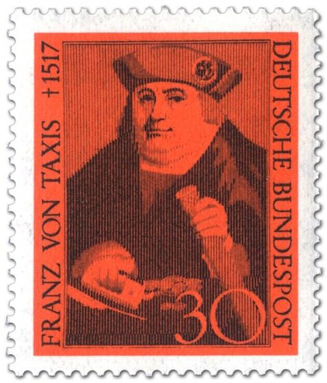 Briefmarke: Franz Von Taxis Begruender Postwesen