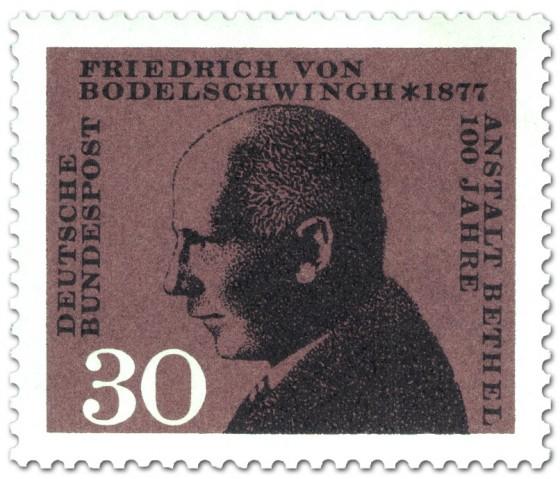 Briefmarke: Friedrich Von Bodelschwingh Bethel