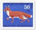 Briefmarke: Fuchs (Rotfuchs)