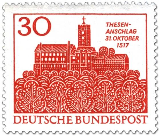 Briefmarke: Wartburg Eisenach (Zuflucht Luthers)