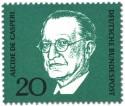 Briefmarke: Alcide de Gaspari (Italienischer Politiker)