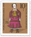 Briefmarke: Puppe um 1878