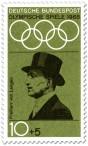 Briefmarke: Carl Friedrich von Langen (Reiter)