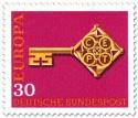 Briefmarke: Europamarke 1968 (Schlüssel, 30)