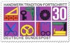 Briefmarke: Handwerk - Tradition - Fortschritt
