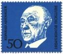 Briefmarke: Konrad Adenauer (Deutscher Bundeskanzler)