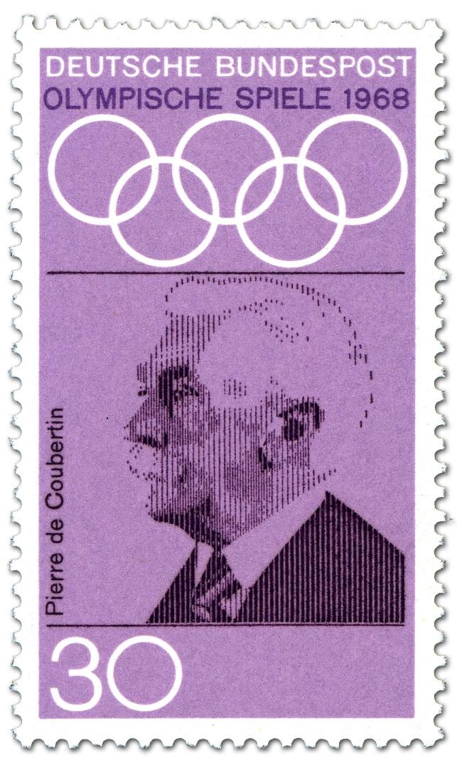 Pierre De Coubertin Begründer Olympische Spiele Neuzeit