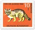 Briefmarke: Wildkatze