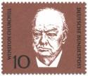 Briefmarke: Winston Churchill (britischer Politiker)