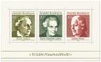 Briefmarke: 50 Jahre Frauenwahlrecht (Briefmarkenblock)