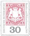 Briefmarke: Bayern 3 Kreuzer (Deutscher Philatelistentag)