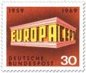 Briefmarke: Europamarke 1969 Tempel 30