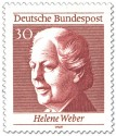 Briefmarke: Helene Weber Frauenrechtlerin