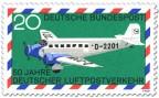 Briefmarke: Junkers Ju 52 Luftpost