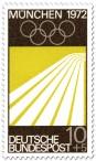 Briefmarke: Laufbahn / Leichtatletik (München 1972)