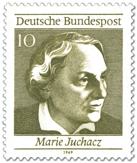 Briefmarke: Maria Juchacz (Frauenrechtlerin)