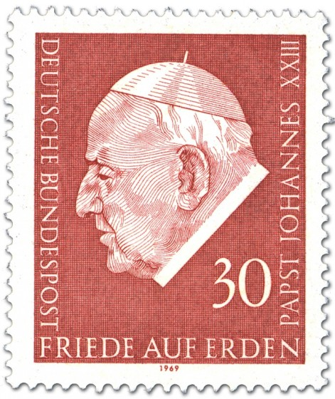 Briefmarke: Papst Johannes XXIII.