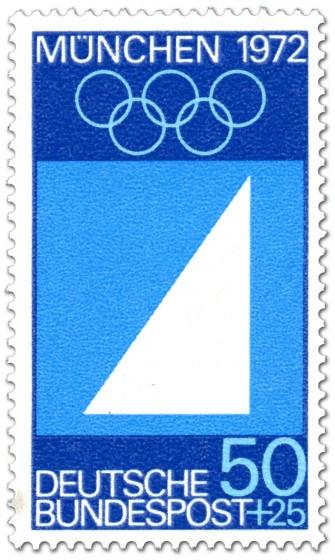 Briefmarke: Segel Segeln