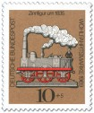 Zinnfigur um 1835 - Dampfeisenbahn