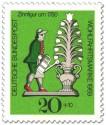 Briefmarke: Zinnfigur um 1780 - Gärtner