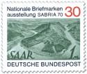 Briefmarkenausstellung Sabria 1970