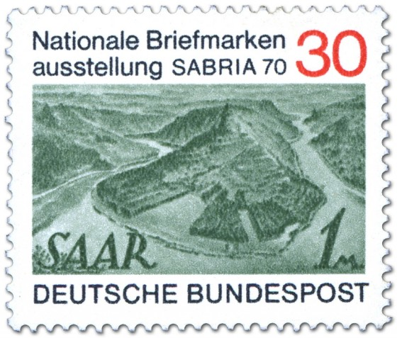Briefmarke: Briefmarkenausstellung Sabria 1970