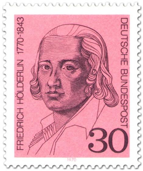 Briefmarke: Friedrich Hölderlin (Dichter)