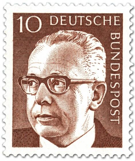 Briefmarke: Gustav Heinemann (10)