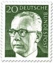 Briefmarke: Gustav Heinemann (20)