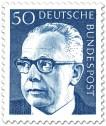 Briefmarke: Gustav Heinemann (50)