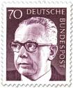 Briefmarke: Gustav Heinemann (70)