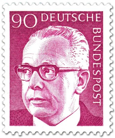 Briefmarke: Gustav Heinemann (90)