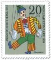 Briefmarke: Hanswurst Marionette