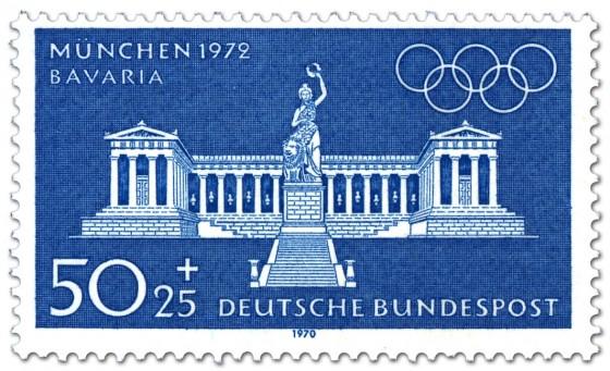 Briefmarke: München Bavaria und Ruhmeshalle