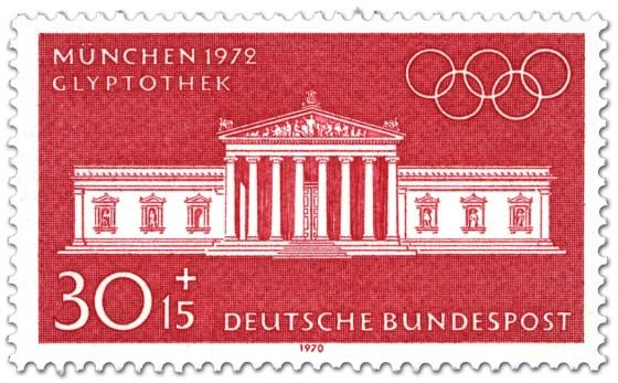 Briefmarke: München Glyptothek