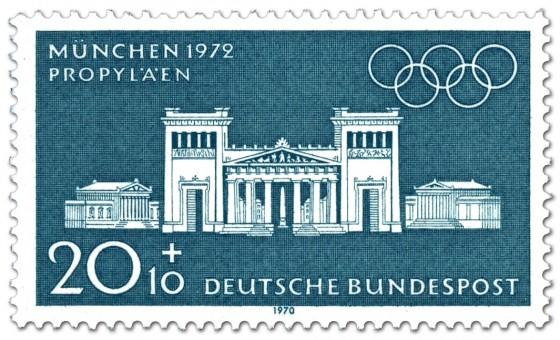 Briefmarke: München Propylaeen