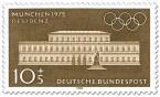 Briefmarke: München Residenz