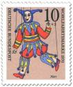 Briefmarke: Narr Marionette