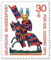 Briefmarke: Ritter Walther von Metz