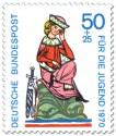 Stamp: Walther von der Vogelweide (Minnesänger)