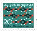 Briefmarke: Chemische Formel (Chemiefaserforschung)