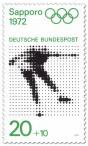 Briefmarke: Eiskunstlauf  (Olympische Winterspiele Sapporo 1972)