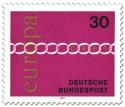 Briefmarke: Europamarke 1971 Kette 30